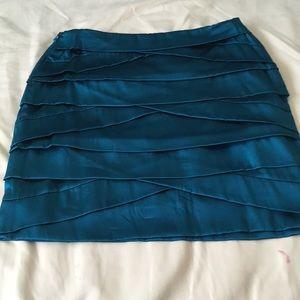 DVF silk skirt